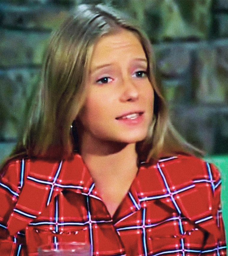 THE BRADY BUNCH, Eve Plumb, 1969-1974.