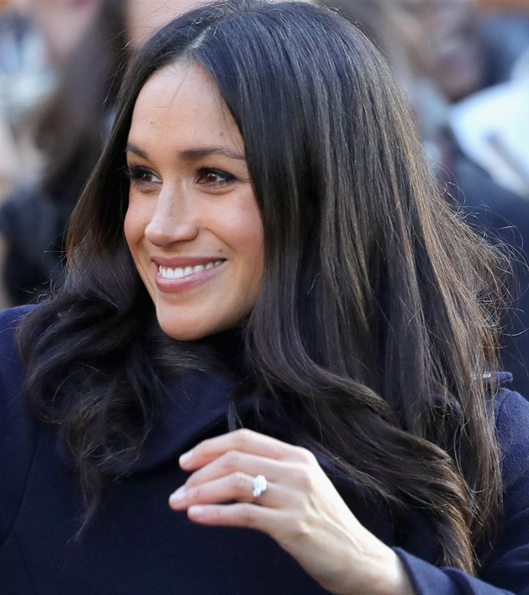 Meghan Markle hair photo