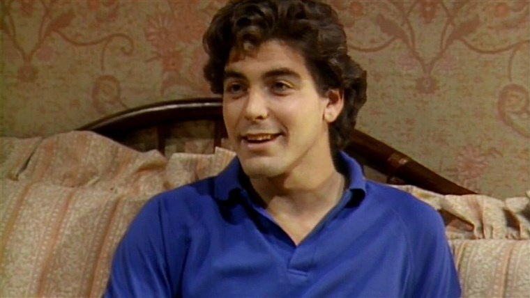 George Clooney on The Golden Girls