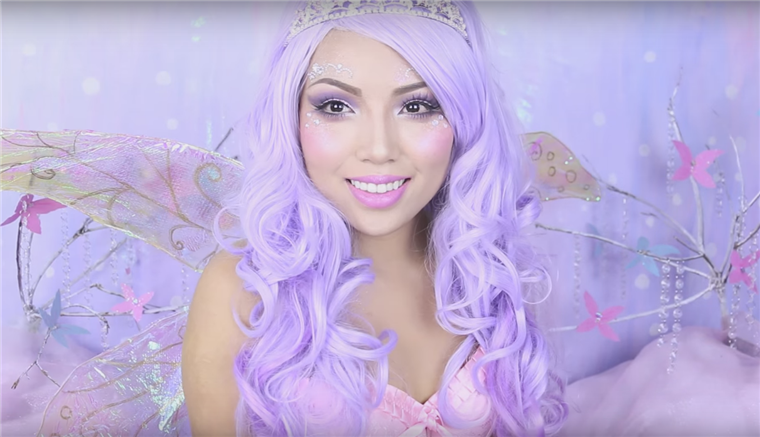 Sugarplum fairy makeup