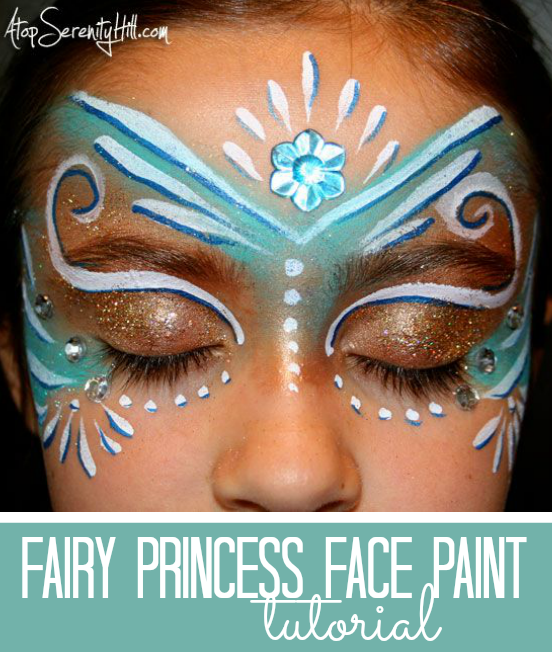 Gesicht paint fairy makeup