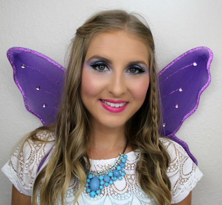 Lila fairy makeup