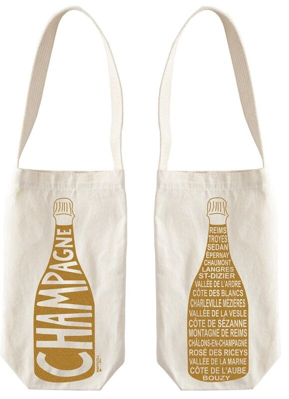Gerade add a bottle of bubbles to this chic bag and then toast to a beautiful friendship.