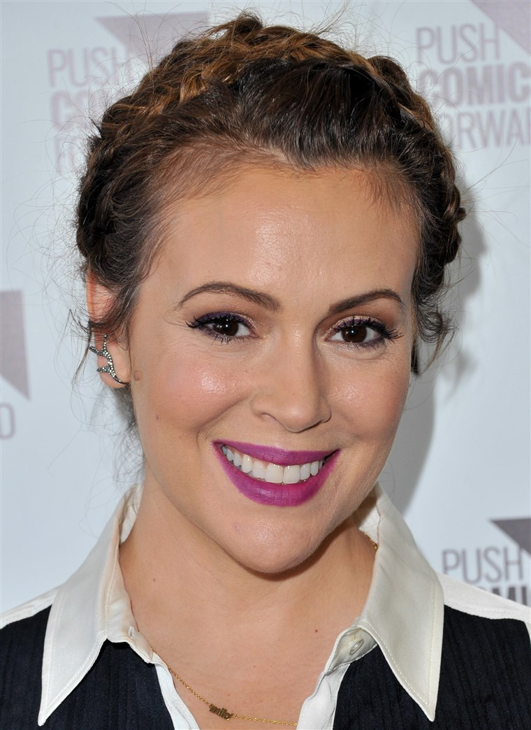 Alyssa Milano Signs Copies Of