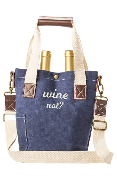 вино not tote bag