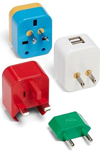 Let 001 5-in-1 travel adaptor
