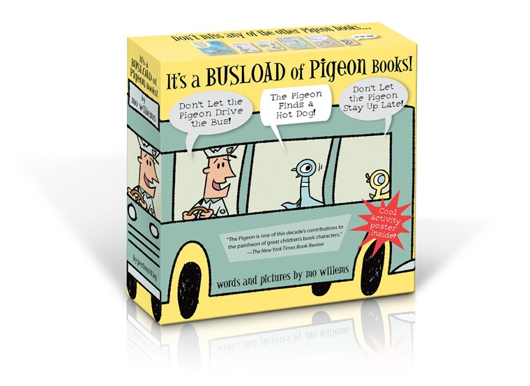 To's a Busload of Pigeon Books!