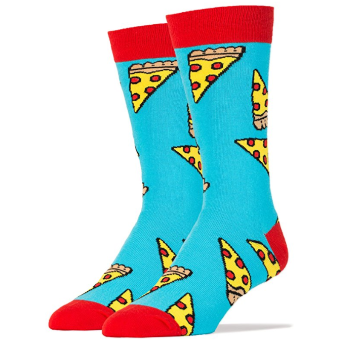Oh yeah pizza socks