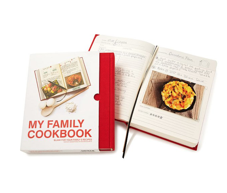 Familie Personalized Cookbook