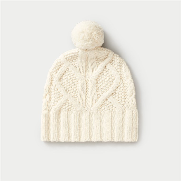 Everlane cable beanie