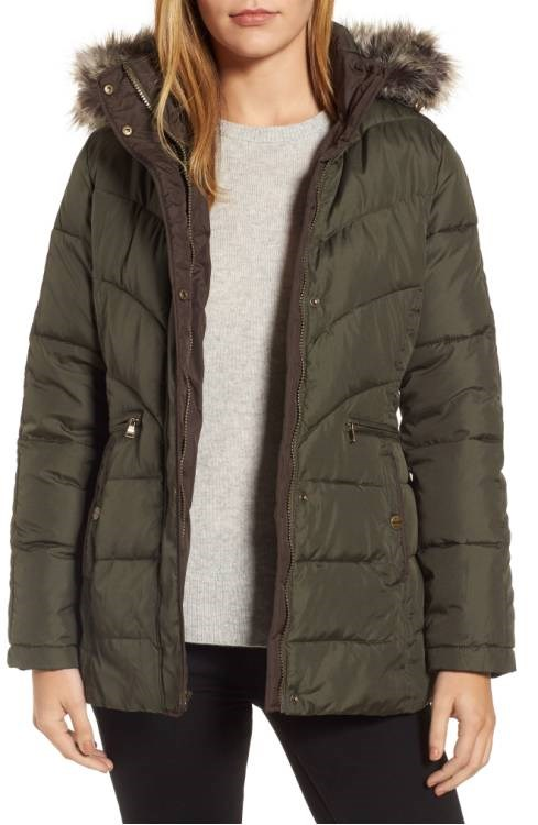 Лари Levine Quilted coat