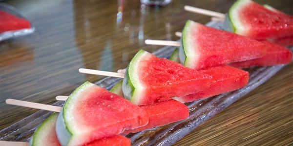 酒醉 Watermelon Popsicles