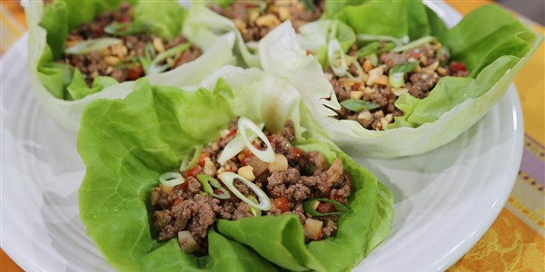 سيري Daly's Asian Beef Lettuce Cups