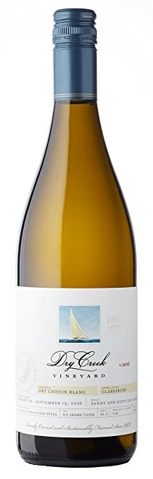 2016 Dry Creek Vineyard Dry Chenin Blanc, Clarksburg