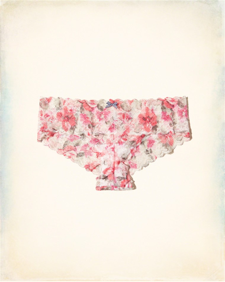 Gilly Hicks for Hollister lace cheeky briefs floral