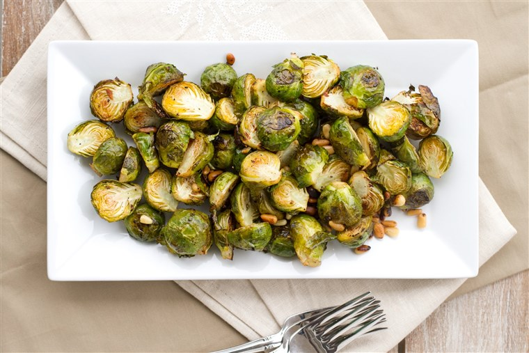 柠檬 Roasted Brussels Sprouts