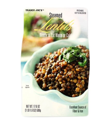 على البخار lentils are a tasty plant-based protein.