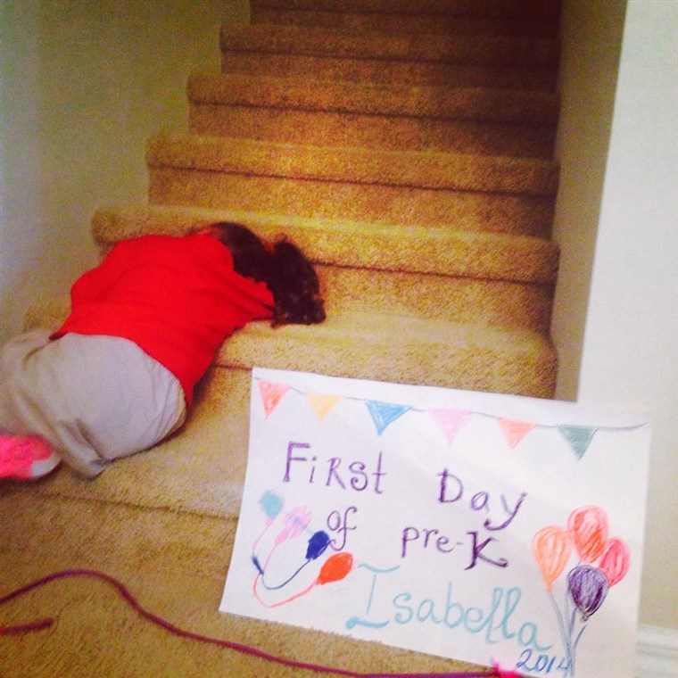 Isabella Santos would rather not face the first day of school
