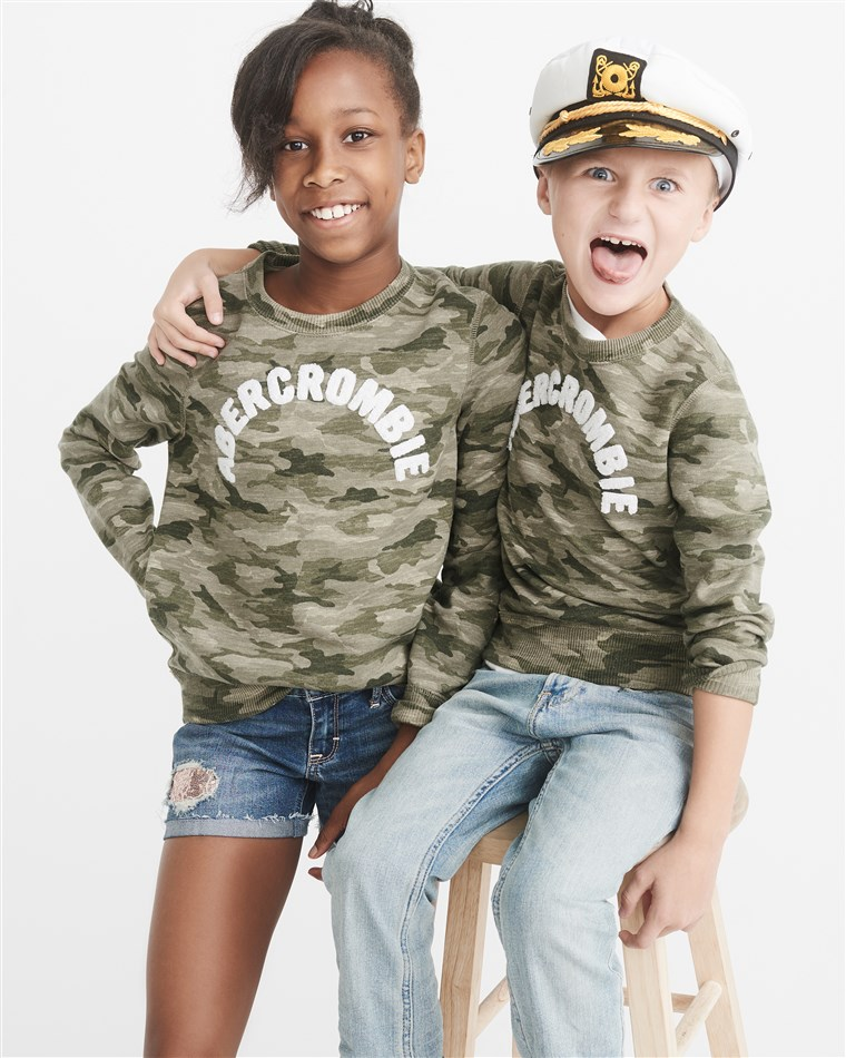 Das line, released through the company's Abercrombie Kids division, will feature 25 styles of tops, bottoms and accessories.