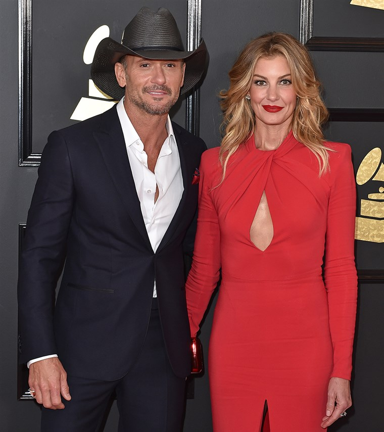 蒂姆 McGraw and Faith Hill