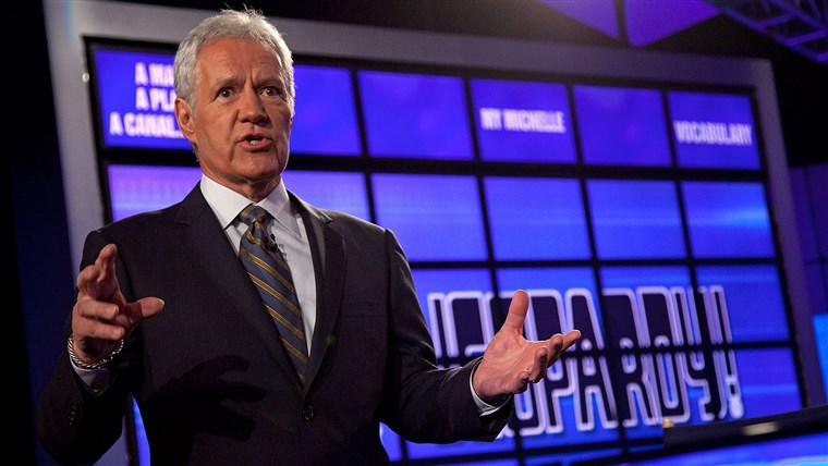 Alex Trebek sing-talks Rihanna's 'Umbrella' on 'Jeopardy!'