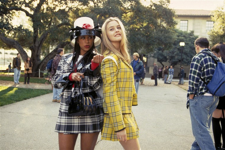 AHNUNGSLOS, Stacey Dash, Alicia Silverstone, 1995, (c) Paramount/courtesy Everett Collection