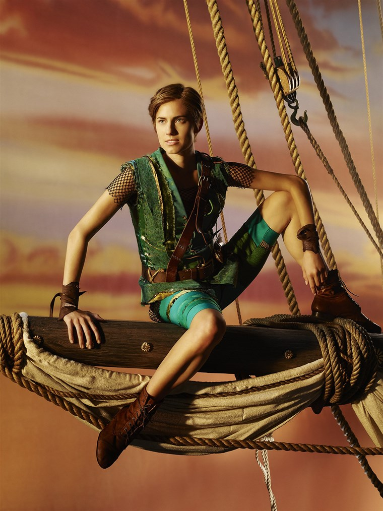 Allison Williams sets a course for adventure as the newest Peter Pan.