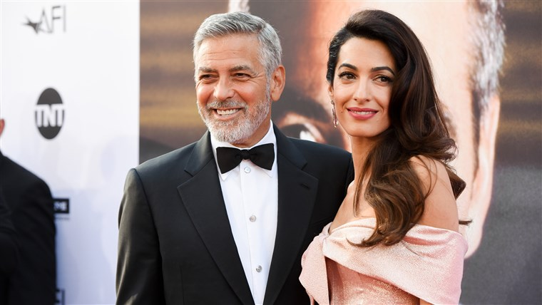 جورج Clooney and Amal Clooney: 2018 AFI Life Achievement Award Gala