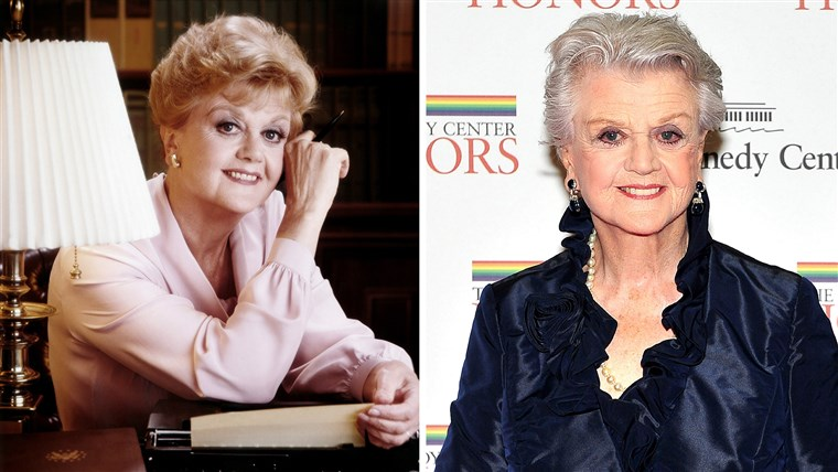 Angela Lansbury as Jessica Fletcher in
