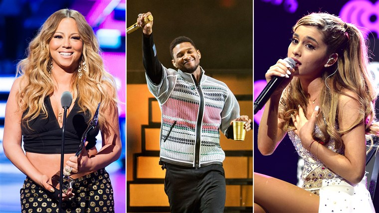 Марая Carey, Usher And Ariana Grande
