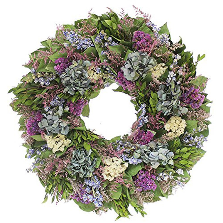 Geschenke for new moms, wreath