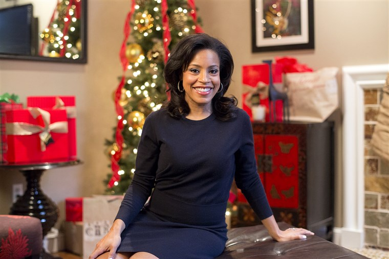 HEUTE Show: Sheinelle Jones gives a tour of her holiday-ready home for At Home With TODAY on December 17, 2014.