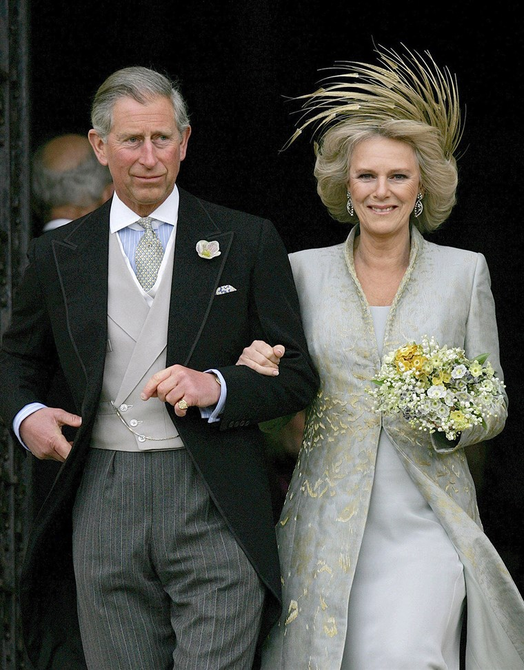 Великобритания's Prince Charles and his wife Camilla