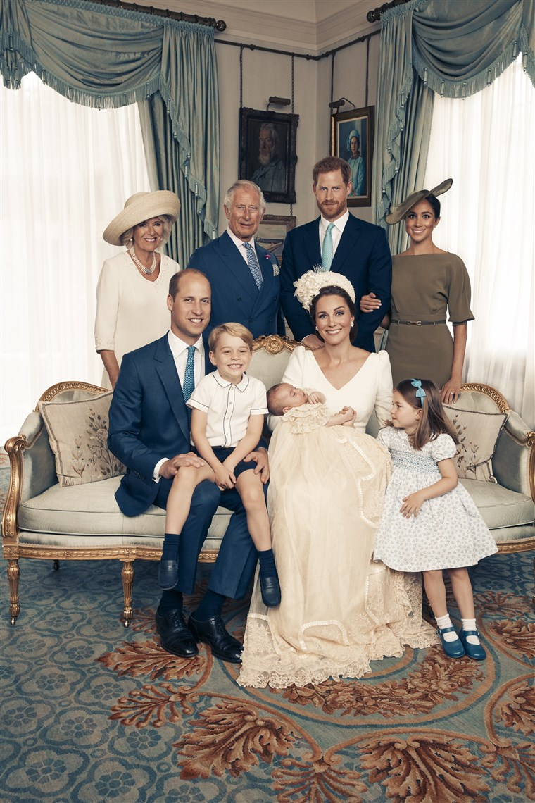 princ Louis Of Cambridge - Official Christening Photographs