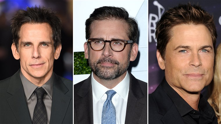本 Stiller, Steve Carell and Rob Lowe took to Twitter Wednesday after Sony decided to cancel the release of