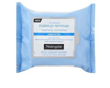 Neutrogena Makeup Remover Cleansing Towelettes- Fragrance Free