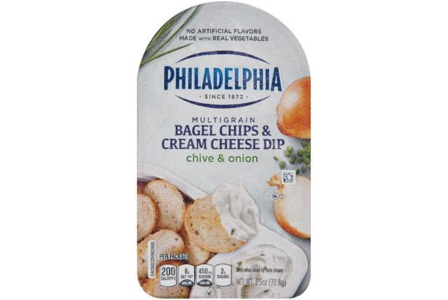 Philadelphie Multigrain Bagel Chips & Cream Cheese