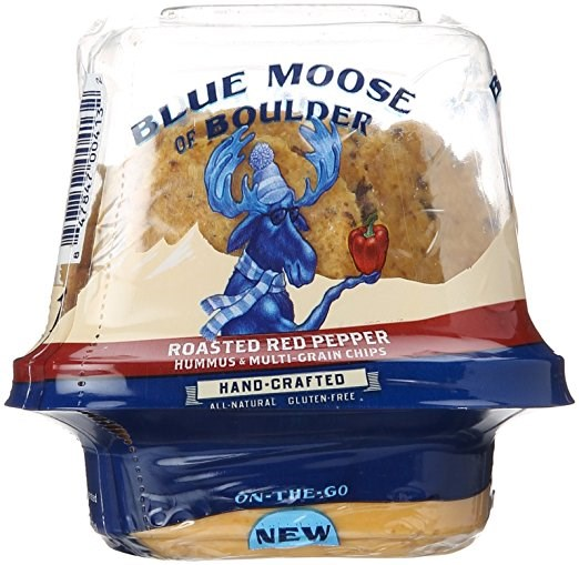 Modrý Moose of Boulder Roasted Red Pepper On-the-Go Hummus