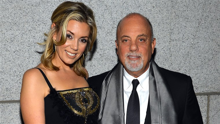Alexis Roderick and Billy Joel in New York in 2013.