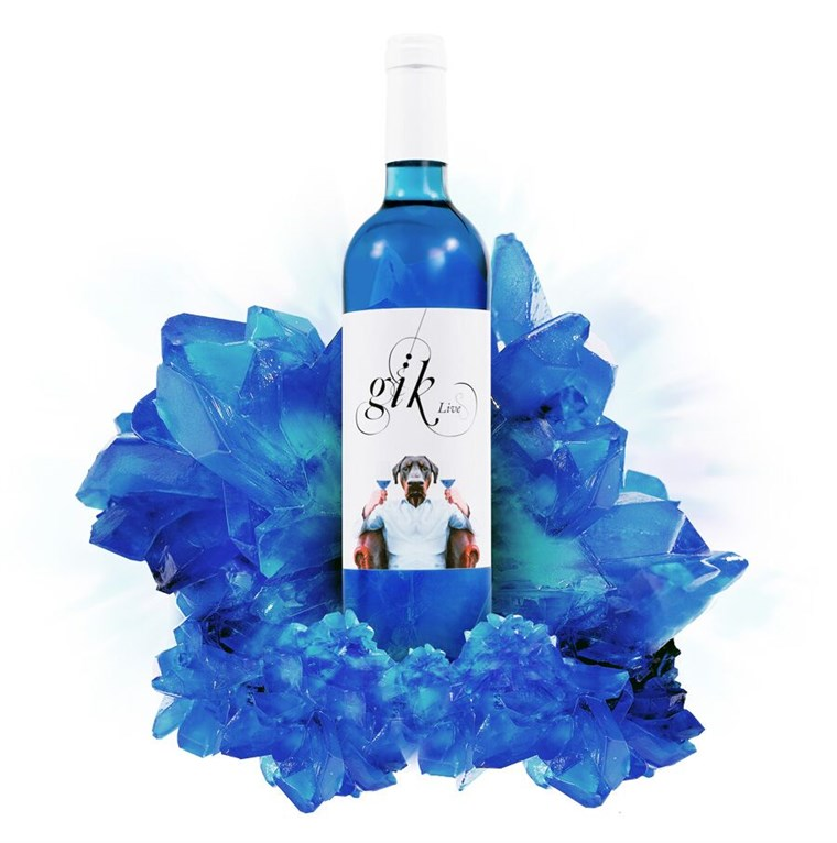 Nový blue wine from Gik will be launching in the U.S.