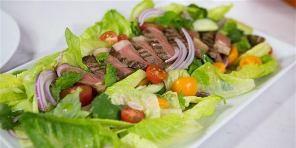 Thajština Salad with Grilled Dry-Aged Beef