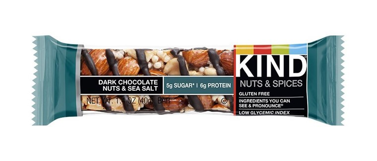 Boxen of Kind Snacks' Dark Chocolate Nuts & Sea Salt bars have been recalled after the packaging failed to declare the bars contained walnuts. Individual packages were properly labeled.