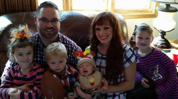 ال Stine family has been praying for the recovery of newborn Knox, center, who was found