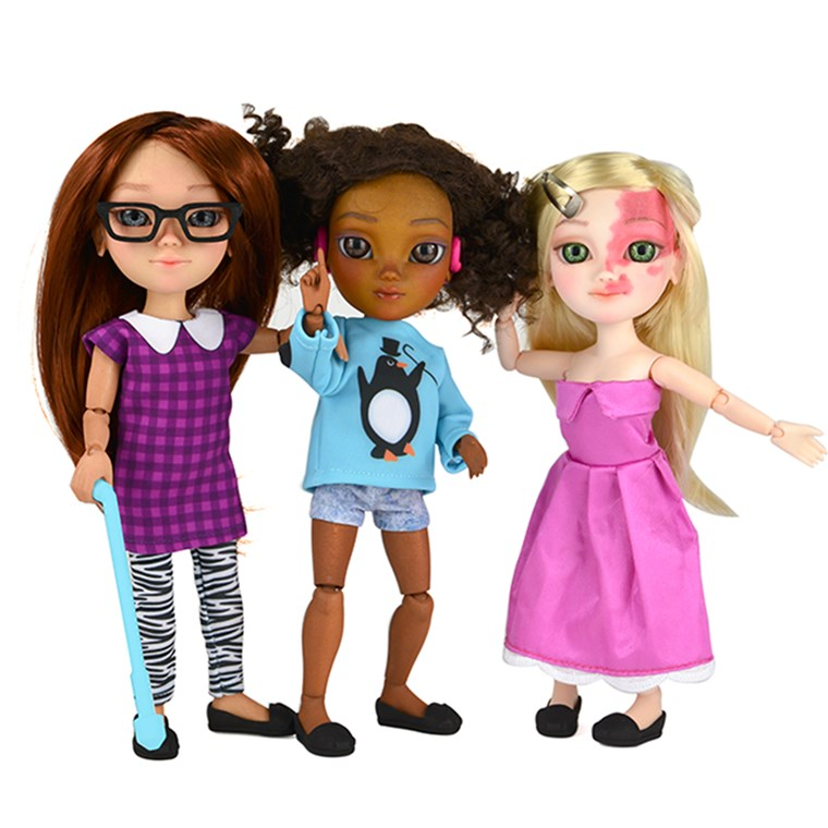 玩具 Like Me Campaign Inspires New Line of Dolls with Disabilities