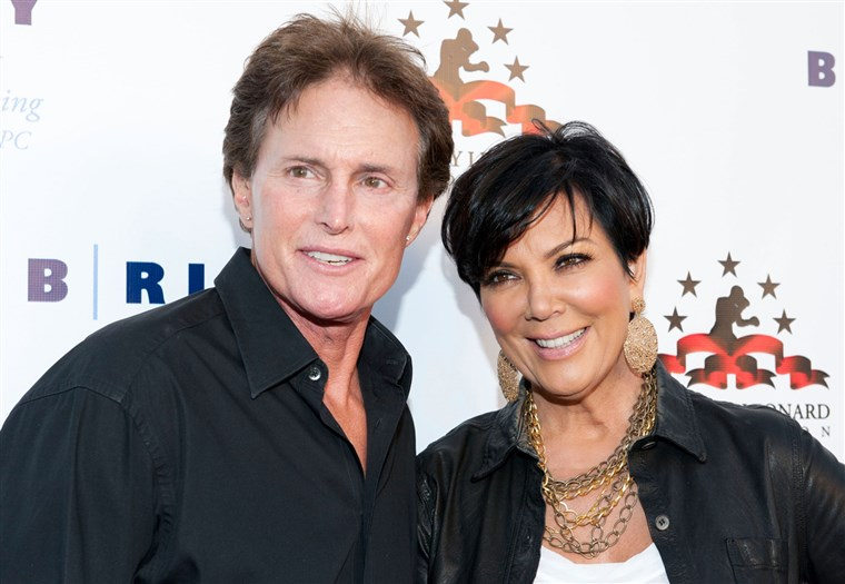 صورة: Bruce and Kris Jenner