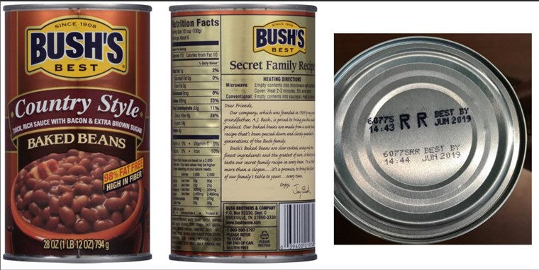 دفع's Baked Beans issues voluntary recall