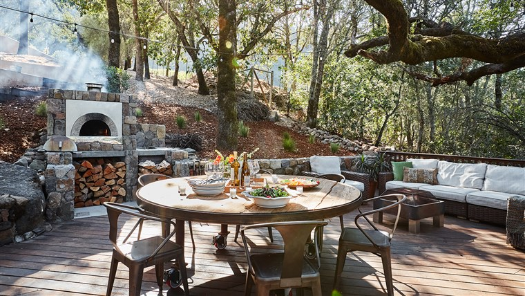 Candace Cameron Bure and Val Bure Napa Home
