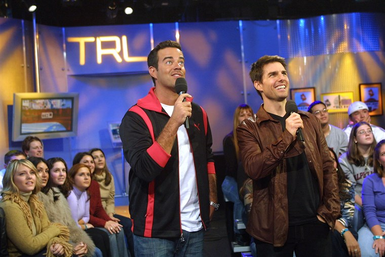 MTV TRL: Tom Cruise & Cameron Crowe