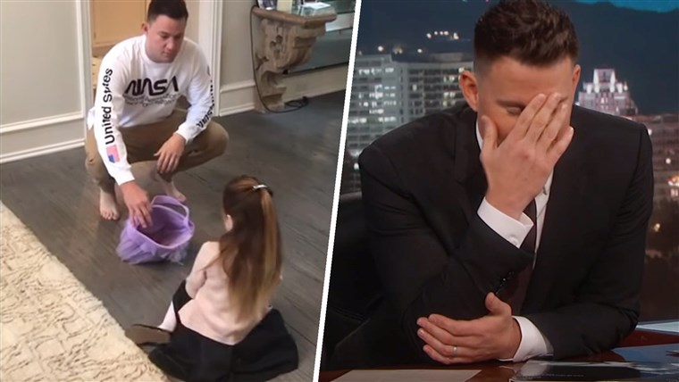 تشانينج Tatum Tells His Daughter He Ate All Her Halloween Candy