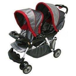 Най- Baby Trend Sit N' Stand Double is a tandem model that starts at $163.